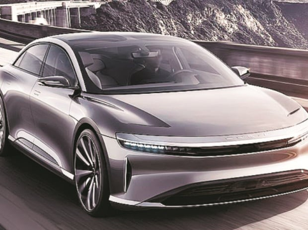Lucid Air, electric car, supercar