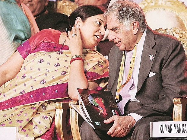 Global Investors Summit, Ratan Tata, Smriti Irani