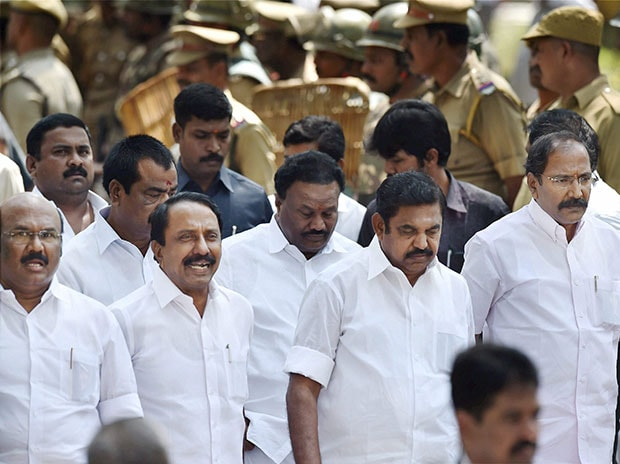 Tamil Nadu Chief Minister Edappadi K Palaniswami. File Photo: PTI
