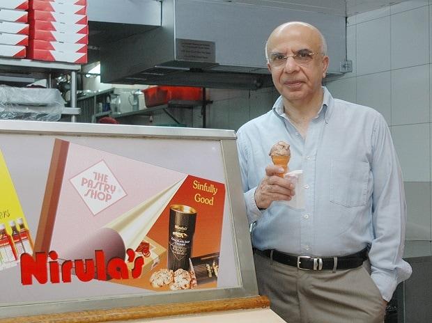 Lalit Nirula, former owner, Nirula's