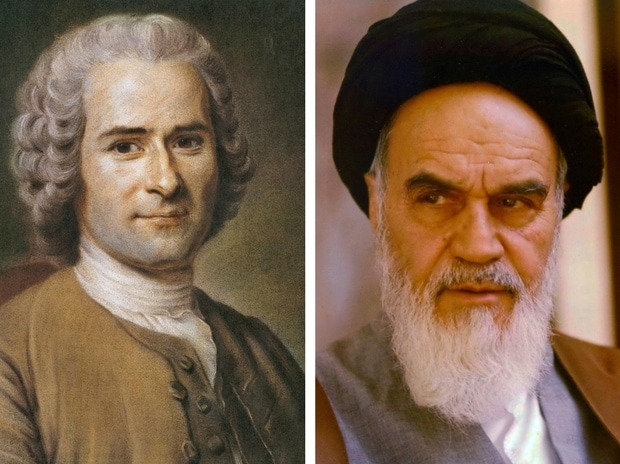 Jean-Jacques Rousseau, Ayatollah Khomeini, Age of Anger
