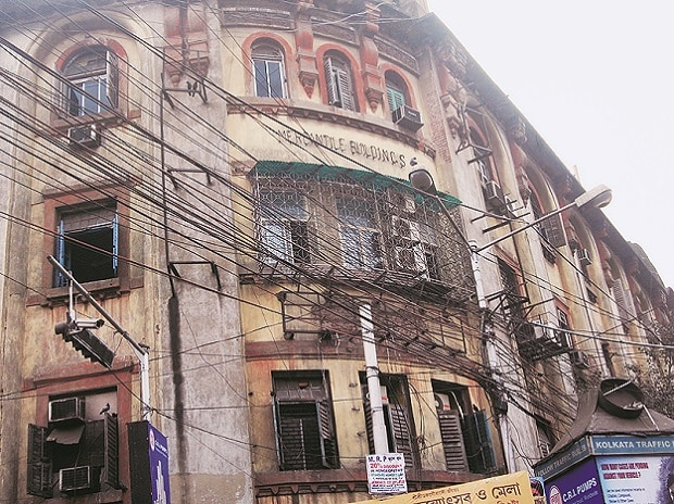 Mercantile Buildings at 9/12 Lalbazar Street in central Kolkata, identified by the I-T department as the home of 300 shell companies