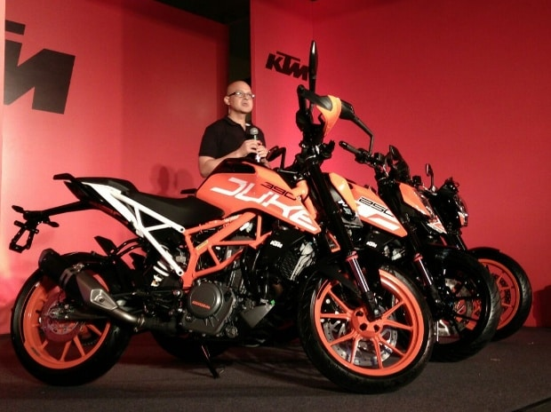 KTM launches new range of bikes, priced at Rs 1.4 lakh and more