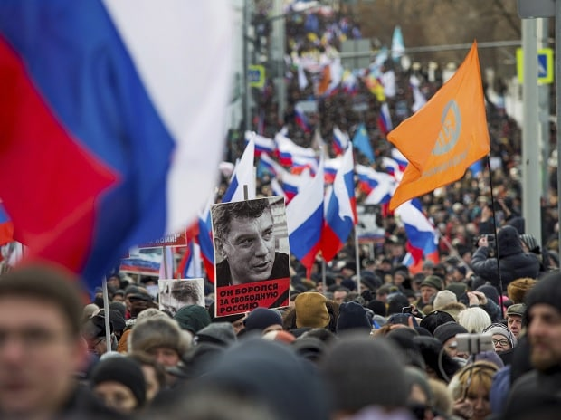 march, opposition, Boris Nemtsov, Nemtsov, Moscow, Russia