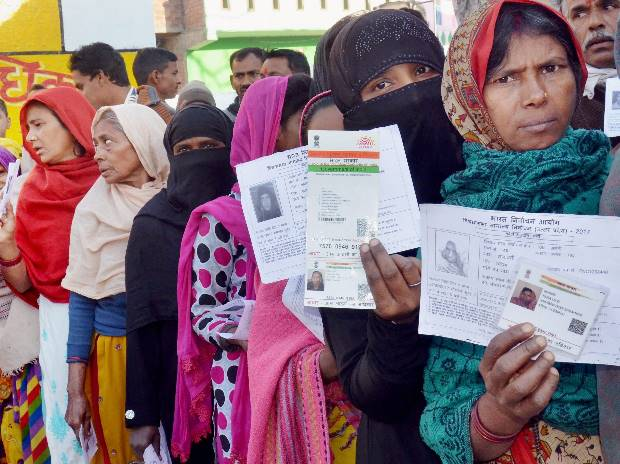 Over 40% turnout till 2 pm in phase-V of UP polls