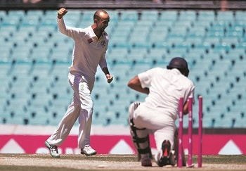 Nathan Lyon, with 23, was the top wicket-taker on India's tour of Australia in 2014-15. Photo: Reuters