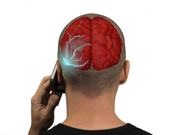 brain, mobile, radiation