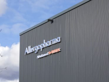 Allergopharma's biopharmaceutical production facility