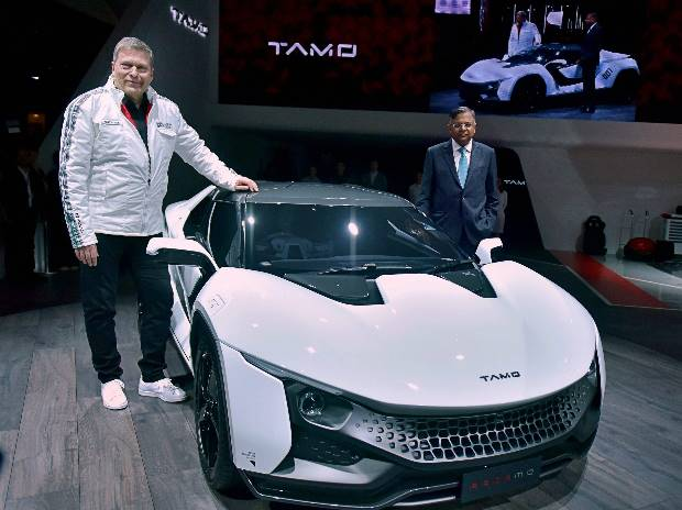 RACEMO, Sports car, N Chandrasekaran, Guenter Butschek