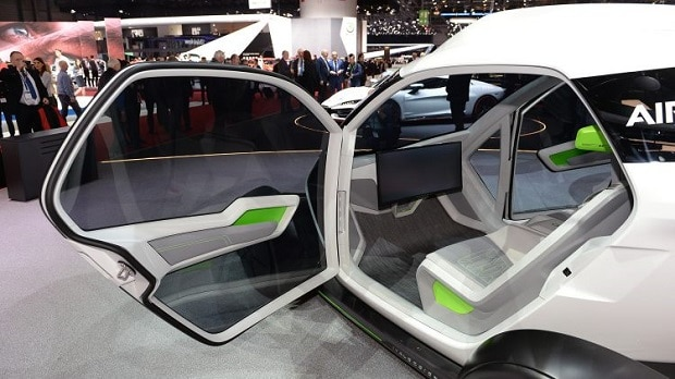 Airbus and Italdesign's Pop.Up flying car debut at the Geneva Motor Show. Photo: Facebook