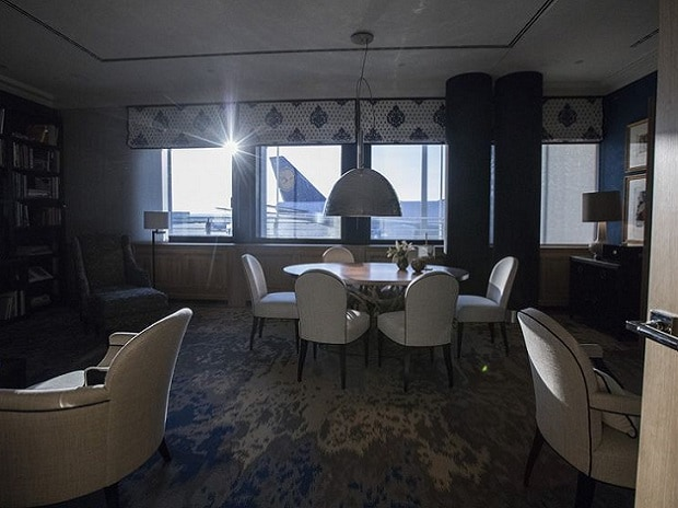 The VIP lounge: Photo: Bloomberg
