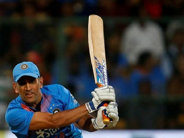 Mahendra Singh Dhoni will be a likely casualty of the new rules. His Spartan bat's edges exceed the 40 mm limit