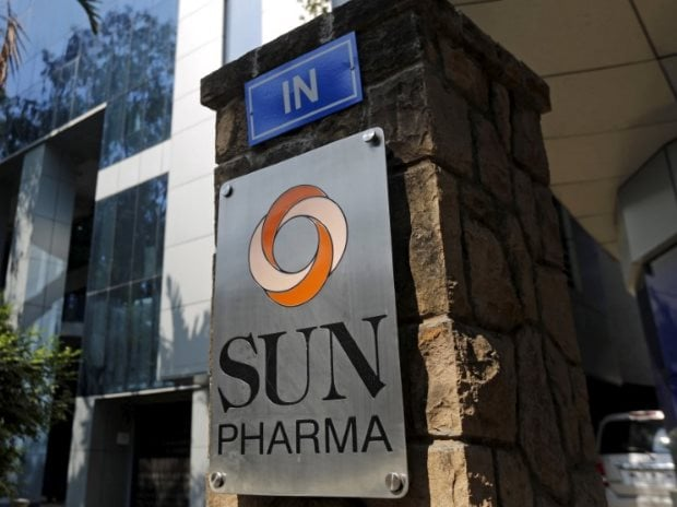 A logo of Sun Pharmaceutical Industries Ltd is pictured at its research and development centre in Mumbai (Photo: Reuters)