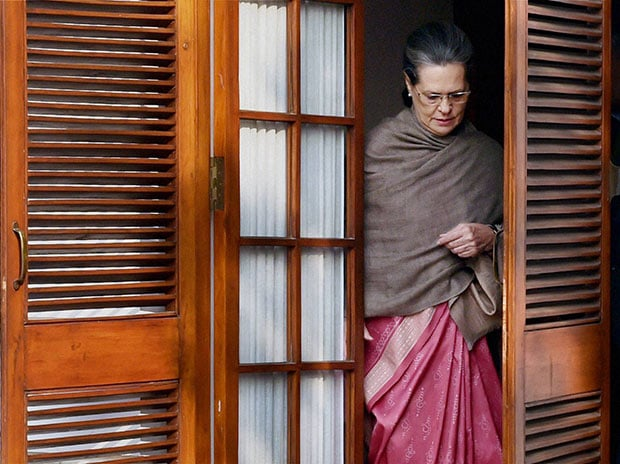 Congress President Sonia Gandhi. Photo: PTI