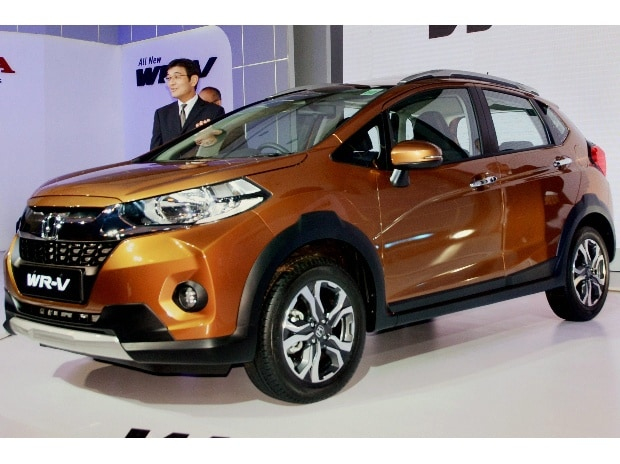 File photo of Yoichiro Ueno, Chief Executive and President of Honda Cars India Ltd during the launch of WR-V car in New Delhi