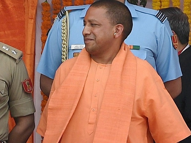 Hindu priest takes oath as chief of India's largest state