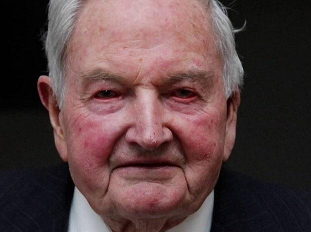 Billionaire philanthropist David Rockefeller dies at 101