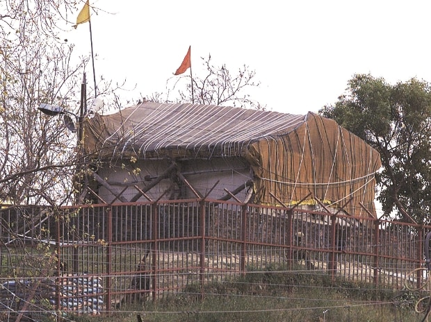 Vishwa Hindu Parishad stocking stones in Ayodhya to build Ram temple