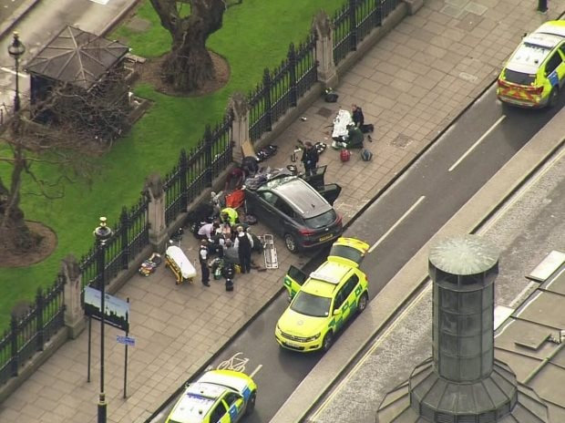 Two dead, others injured in UK parliament 'terrorist incident'