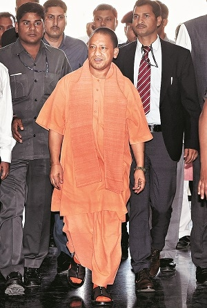 Yogi Adityanath. Photo: PTI