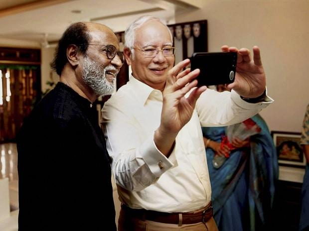 Rajinikanth, Rajini, Mohammed Najib Razak, Najib Razak, Tamil, Chennai