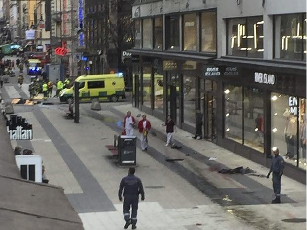 Stockholm attack, Stockholm, Sweden, truck crash, crash