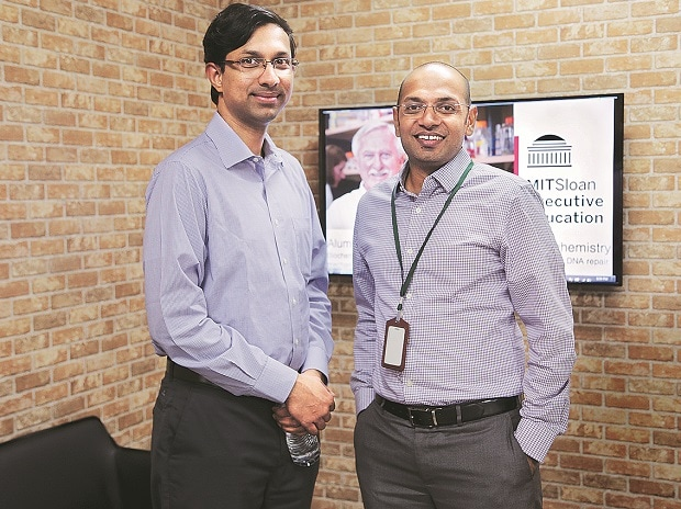 Ashwin Damera (left) and Chaitanya Kalipatnapu,  co-founders, Eruditus  Executive Education