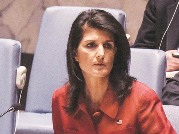 Once a Trump critic, Nikki Haley casts herself as his leading diplomat