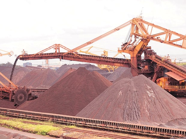 File photo of a coal mine
