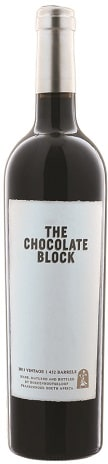 The Chocolate Block is a cult wine, sold on allocation to export markets. A blend (mostly Syrah, with some Grenache and Cab and a little Cinsault and Viognier), the 2014 vintage I quaffed recently was full-bodied and rich, with layers of complexity