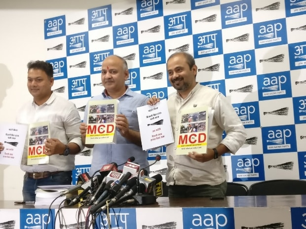 MCD 'most corrupt department,' says AAP