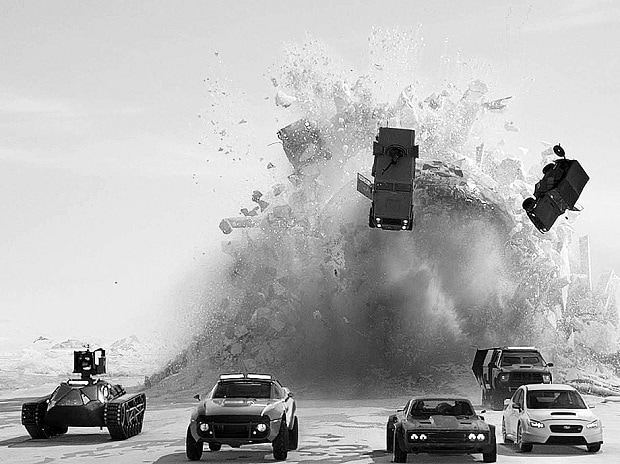 'The Fate of the Furious' races to record opening