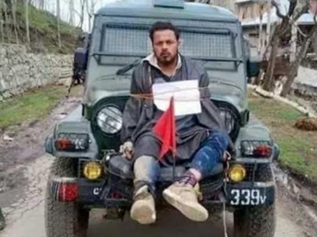 Major Gogoi case: Involuntary human shield now at the forefront of battles