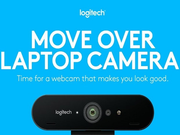 Logitech, BRIO, Webcam