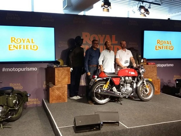 Royal Enfield Brazil  Photo: Twitter