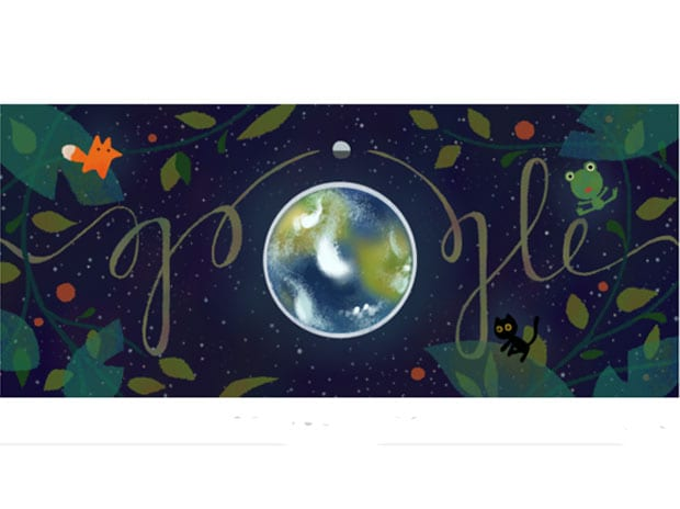 Earth Day, Google Doodle