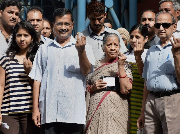 Exit polls predict sweep for BJP in Delhi, AAP staring at rout