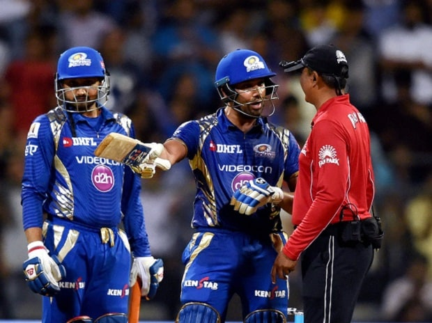 IPL 2017: Rohit Sharma fined 50% of match fee for showing dissent