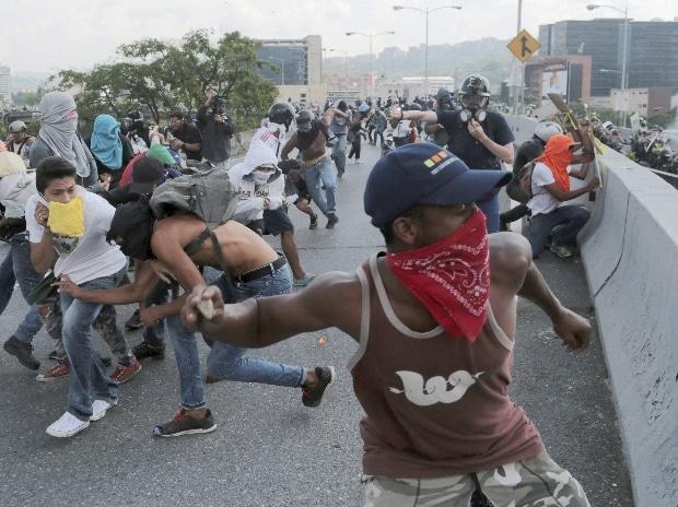 Venezuela protests, Venezuela