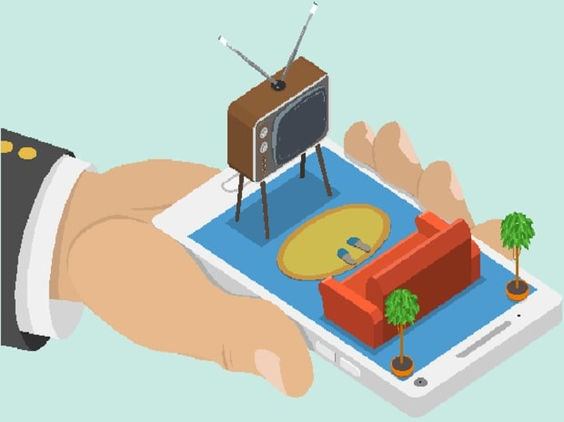 smartphone viewing, small screens, Television, TV viewing, Television