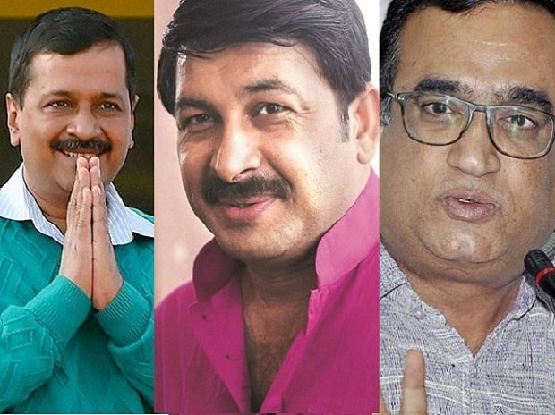 MCD election result: BJP leads in 71 wards; Congress, AAP rally behind