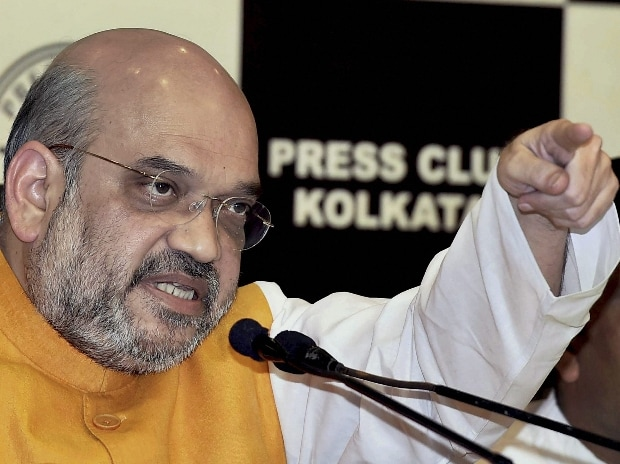 BJP National President Amit Shah interacts with media at Press Club in Kolkata
