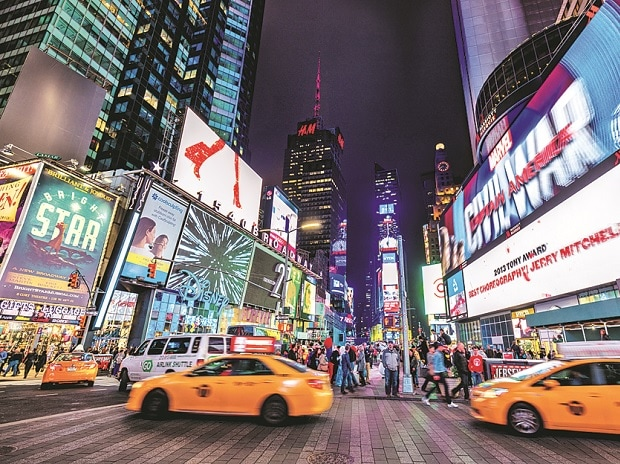 Digital signage, New York, time square,