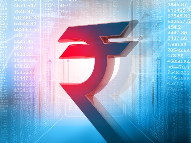 Rupee logs 2nd straight day loss, down 7 paise to 64.15