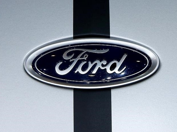 The logo of Ford is seen during the 87th International Motor Show at Palexpo in Geneva, Switzerland File photo: Reuters
