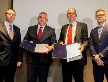 Grupa Azoty & Thyssenkrupp Industrial Solutions officials