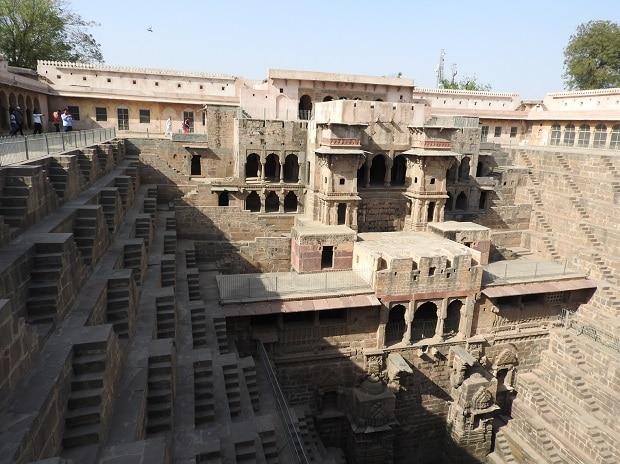 A view of Chand Baoli