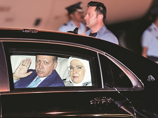 Erdogan, Recep Tayyip Erdogan, Turkish President, Emine Erdogan, India-Turkey bi-lalteral talks, Turkey, Turkish government,