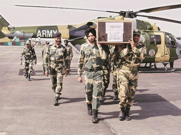 BSF, jawans, coffin