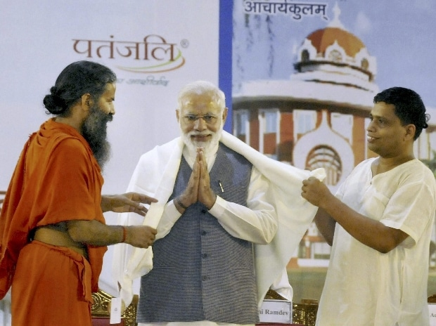 As Modi  rises, so does yoga tycoon Baba Ramdev and his Patanjali empire
